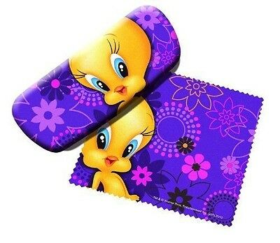 Looney Tunes Tweety Bird Cleaner and Eyeglass Case