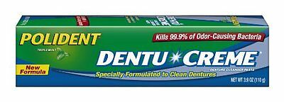 Polident Dentu-Creme 3.9-Ounce Pack of 6