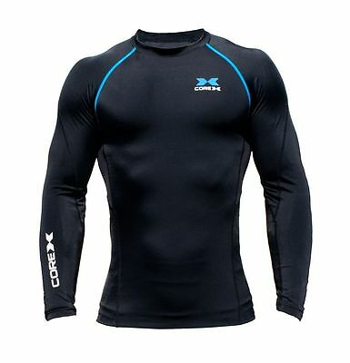 CoreX Elite Compression - Long Sleeve Top - Kids Training Cycling martial arts