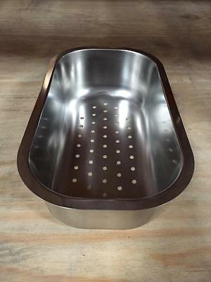 Astracast Steel Contemporary Colander for Korona 1.5 Bowl  Accessory Brand New