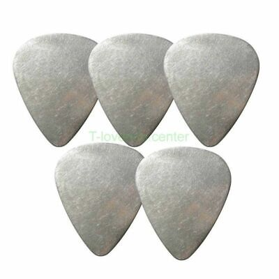 5x Metal Guitar Picks Standard Plectrums for Electric Acoustic Bass - 0.30mm