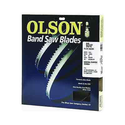 Olson Hard Edge Flex Back Band Saw Blade Fits All 14-Inch Delta/Rockwell, Jet, G