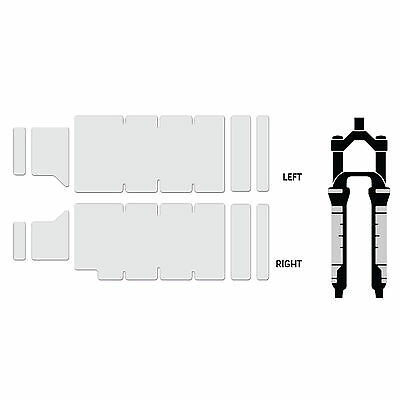 Lizard Skins Adhesive Bike Fork Protector Patches Kit Clear