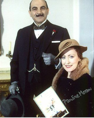 Pauline Moran Photo Signed In Person - Poirot - B175