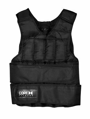 CoreX Weighted Vest (20kg) GYM FITNESS Weight Training Workout