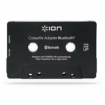 ION Audio Bluetooth Cassette Adapter - Bluetooth audio streaming for cassette pl