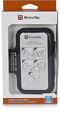 XtremeMac Sportwrap Sport Armband Case for iPod Touch 5G/iPhone 5/5S/5C/SE Black