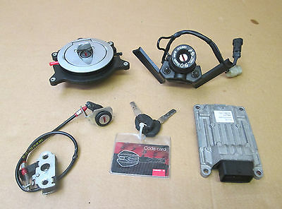 Ducati Monster M1100S 2010 Complete ignition lock set with CDI ECU and keys