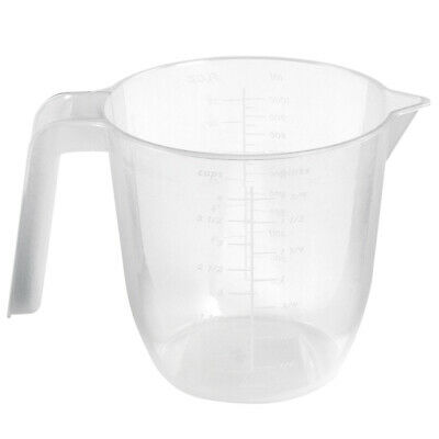 Wham Clear Plastic Measuring Jug 1L or 2L BPA Free