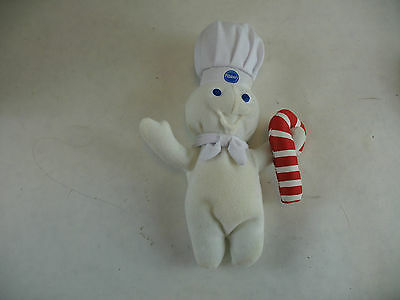 Pillsbury Doughboy with Candy Cane no tag