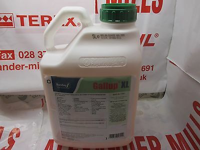 Gallup XL replaces Gallup 360 5Litre Strong Professional Glyphosate Weedkiller