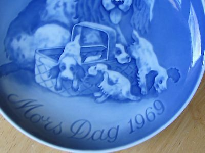 1969 BING & GRONDAHL DENAMRK 1st ISSUE MOTHERS DAY PLATE