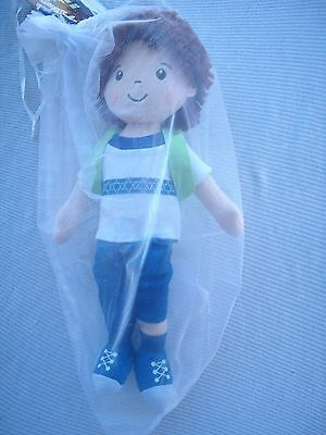 """The Story of Funukkah"" Hanukkah Boy Plush Doll Only, UPC 866793000036"
