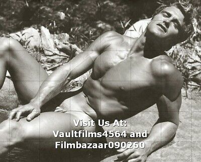 "ED FURY - GAY INTEREST - 1950's Physic Art Homotography 10"" x 8"" Photo  #3326"