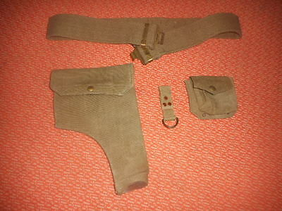 Great Britain Army : 1 British-Officer's Webbing Equipment Militaria