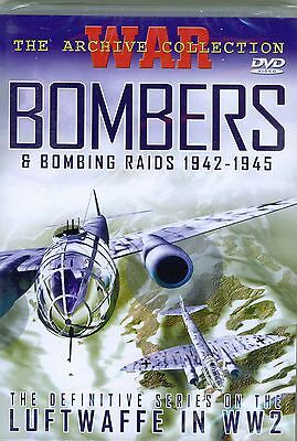 BOMBERS The Story Of Strategic Bombing DVD. New & Sealed. Ideal Gift.