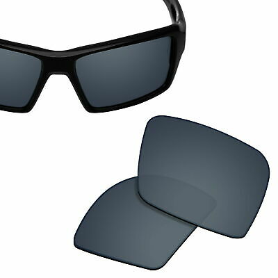 46f80b02ed3 Polarized Replacement Lenses for-OAKLEY Eyepatch 1 2 Sunglasses Black  Titanium