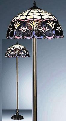 Spring Weeds Tiffany Style Hand Crafted Floor Lamp ( Ideal Christmas Gift )