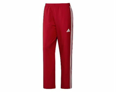 Adidas T16 Team Pant Tracksuit Bottom Red White AJ5320 - Adult Men's