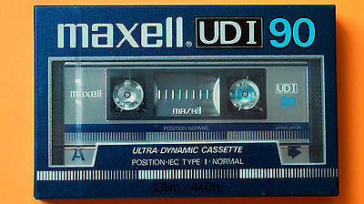1x MAXELL UD I 90 1985 + MADE IN JAPAN + NEW & SEALED +
