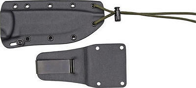 Esee ES22SS Model 5 Complete Sheath System Contains Molded Black Kydex Sheath