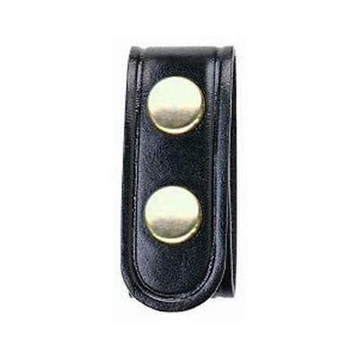 Bianchi 22186 AccuMold Elite Plain Leather Belt Keepers w/ Brass Snap 4 Pack