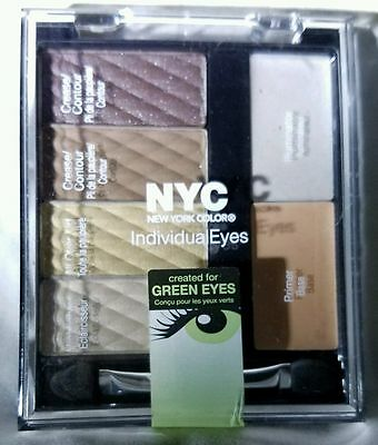 NYC Individual Eyes Eyeshadow Palette for Green Eyes 940 Central Park SEALED