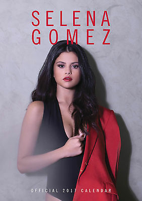 Selena Gomez Official Calendar A3 2017 - BRAND NEW (SKU 139)