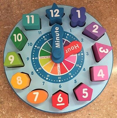 Shape Sorting Clock & Abacus - Fun Learning Toys by Melissa & Doug