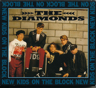 New Kids On The Block The Diamonds RARE Import CD w/ picture card pack '91