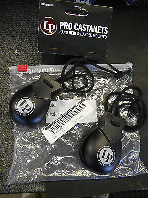 Latin Percussion LP432 Pro Castanets Hand Held & Handle Mounted