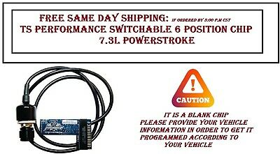 94.5-03 Ford Powerstroke 7.3 Diesel Ts Performance 6 Position Chip 1180401