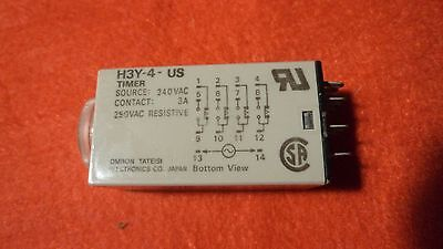 OMRON H3Y-4-US  Timer relay 30 min