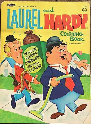 Vintage 1964 Laurel And Hardy Coloring Book