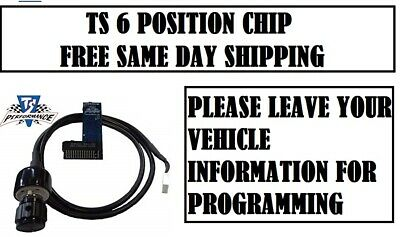 TS Performance 6-Position Chip 1180408 7.3L Ford 2001 Manual 6-chip