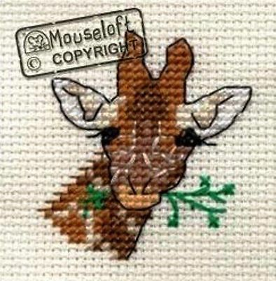 Mouseloft Mini Cross Stitch Kit  - Giraffe