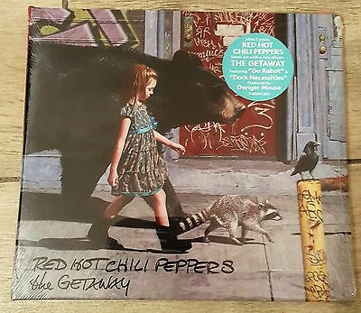 The Getaway by Red Hot Chili Peppers (CD, Jun-2016, Atlantic (Label)) (Slipcase)