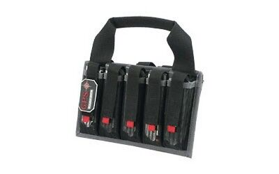 G-Outdoors GPS-1006MAG Magazine Tote Soft Black Holds 10 Pistol Mags