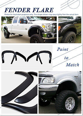 Magnus Rugged Style ABS Fender Flares 4Pcs Fits 97-03 Ford F-150