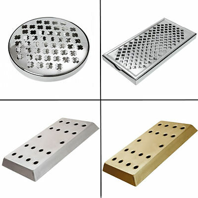 Drip Tray Traditional Beer Drink Trays | Pub Bar Counter Stainless Steel Brass