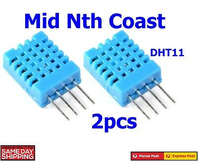 2pcs x DHT-11 Digital Temperature & Humidity Sensor For Arduino