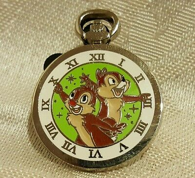 Chip n Dale Stopwatch Clock Pocket Watch PWP 2015 Mystery Disney Pin