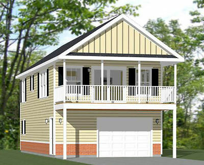 20x40 House -- 2 Bedroom 1.5 Bath -- 1,053 sq ft -- PDF Floor Plan -- Model 6B