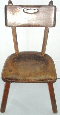 IMPERIAL Royalist MAPLE WOOD CHAIR Imperial Rattan Co.Ltd  CUT OUT CARRY HANDLE
