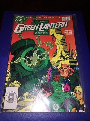 The Green Lantern Corps #224 May 1988 DC Comics