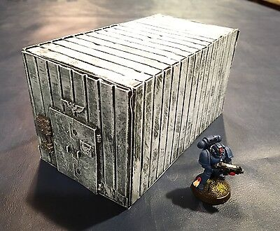 Warhammer 40k Space Marine Chapter Shipping Container - Space Wolves