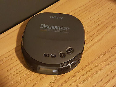 Sony Discman D-243CK Portable CD Player - Tested and Working