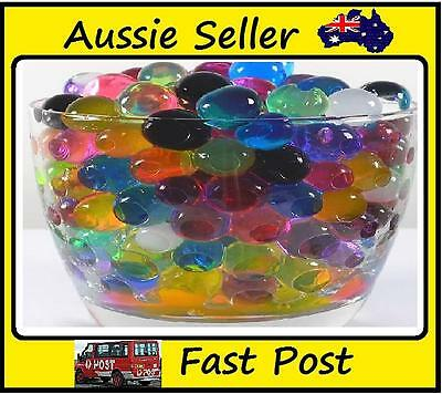 New 500Ball/lot Pearl Shaped Crystal Water Beads Soil Crystal Balls Wedding home