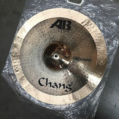 "Chang AB Ling Crash Cymbal - 18"" - Drum Kit Percussion Accessories"