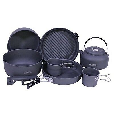 Proforce Equipment 22900 Ndur 9 Piece Cookware Mess Kit w/Kettle